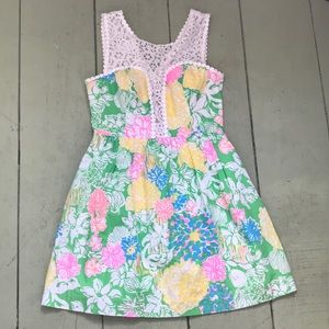 Lilly Pulitzer Raegan dress size 4 hibiscus stroll